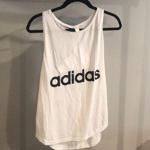 Adidas White tank top